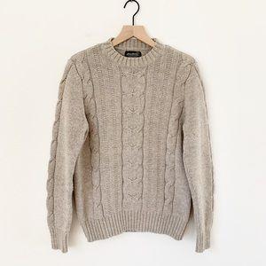 Vintage Eddie Bauer Fisherman Sweater